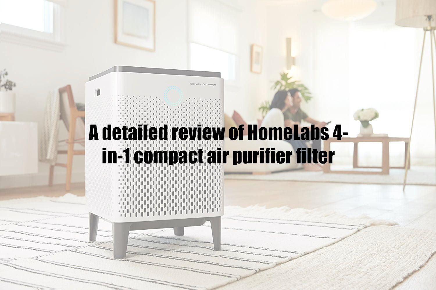 A detailed review of HomeLabs 4-in-1 compact air purifier filter